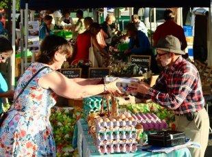 Cambridge Farmers Market on 30 September