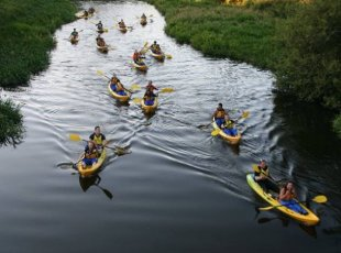 Lake District Glowworm Kayak Tour