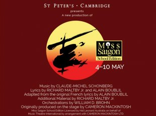 St Peters School presents Miss Saigon (School Edition)