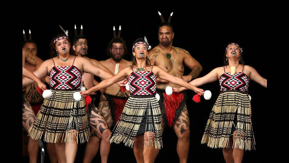 Maori Haka: Cambridge New Zealand