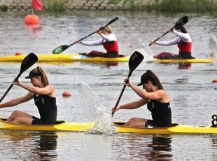 Canoe Racing Test Regatta