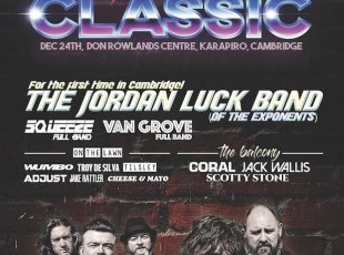 Jordan Luck Band (Exponents): LIVE at the Don Rowland Centre