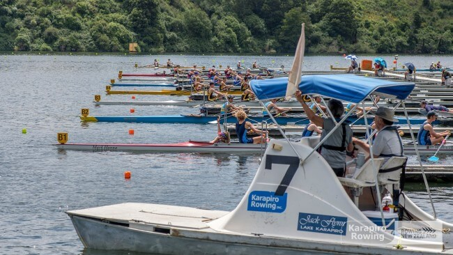 Junior Trials North South Island Under 18 Rowing Regatta
