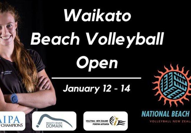 Waikato Beach Volleyball Open-NZ Pro Volleyball Tour