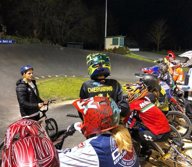 Cambridge BMX Club Superclass Racing