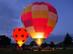 Balloons Visit Waipa
