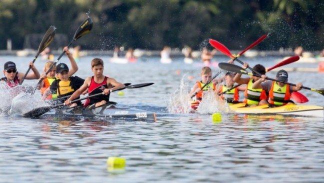 Asia Pacific Junior Canoe Racing Racing