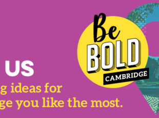 Be Bold Cambridge Drop-in Sessions