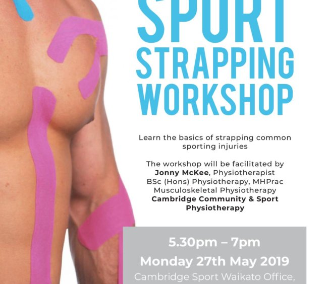 Sports Strapping Workshop