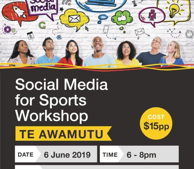 Social Media for Sports Workshop