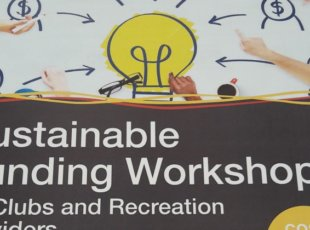 Sustainable Funding Workshop for Sports Clubs and Recreation Providers