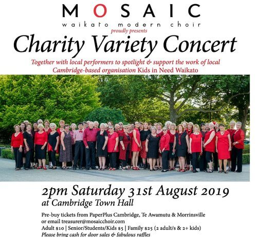 Mosaic Charity Variety Concert