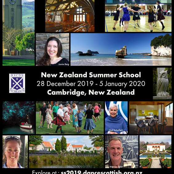 Royal Scottish country Dance Society Summer School