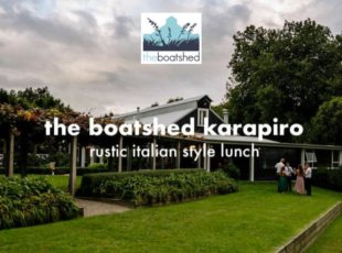 Italian Style Lunch @ The Boatshed