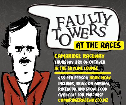 Faulty Tower at the Races