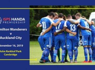 Hamilton Wanderers vs Auckland City