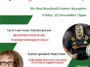 Rural Support Quiz Night & Auction