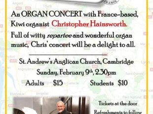 Organ Concert-Joie de Vivre