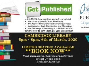 Get Published – Waipa District Libraries