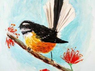Paintvine Piwakawaka – Cancelled