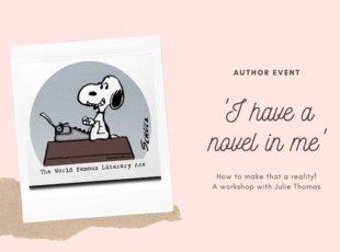 'I have a novel in me' – POSTPONED