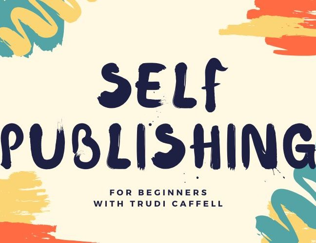 Self-Publishing for Beginners – CANCELLED