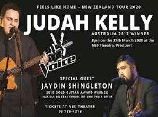 Judah Kelly – Feels Like Home NZ Tour (R18) – POSTPONED