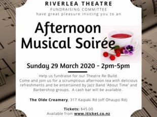 Afternoon Musical Soiree – CANCELLED