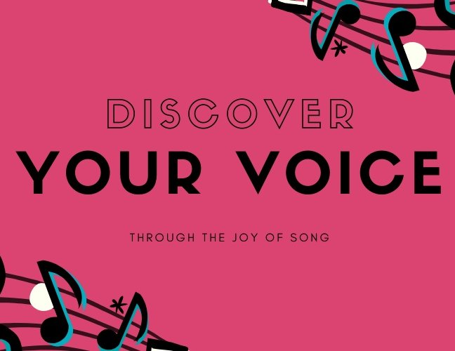 Discover Your Voice – Virtual Sessions held via Zoom on 26 May