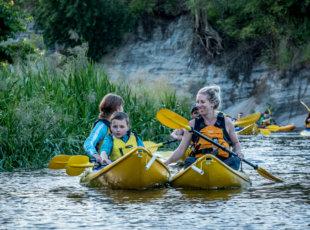 Family Glow worm Kayak Deal