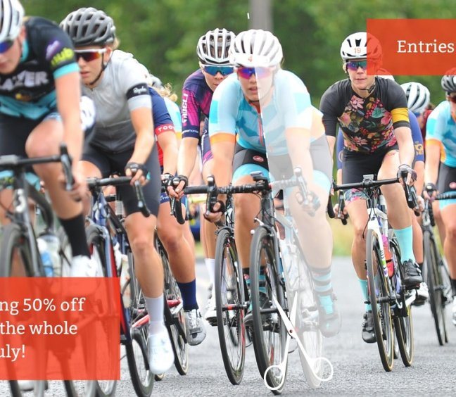 Gran Fondo 2021 50% Entries for all of July
