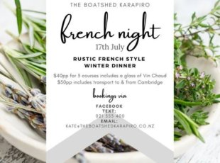 French Night at the The Boatshed