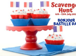 Bonjour! Bastille Day Children's Scavenger Hunt