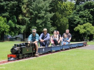 Miniature Train Rides on 6 December