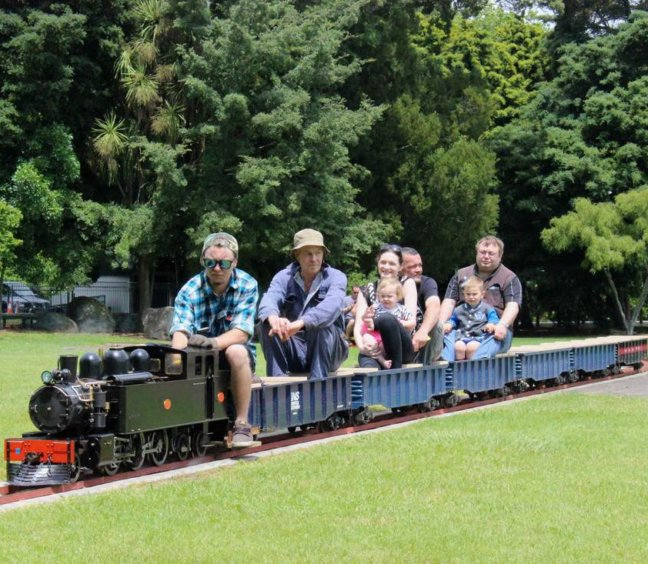 Miniature Train Rides on 14 March
