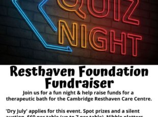 Resthaven Foundation Quiz Night fundraiser