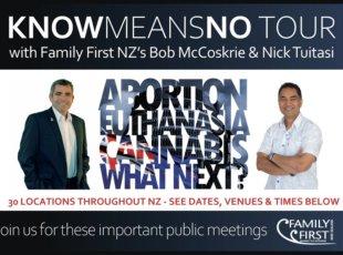 Family First NZ Tour
