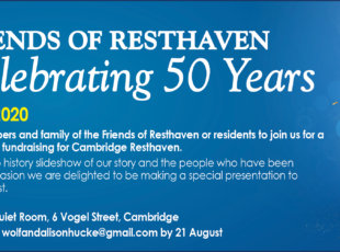 Friends of Resthaven celebrating 50 Years