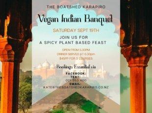 Vegan Indian Banquet
