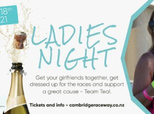 Ladies Night Harness Racing in support of Team Teal