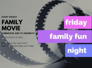 CANCELLED-Friday Family Fun Night Movie