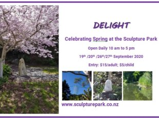 Delight – Spring in the Sculpture Park