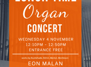 Lunch Time Organ Concert