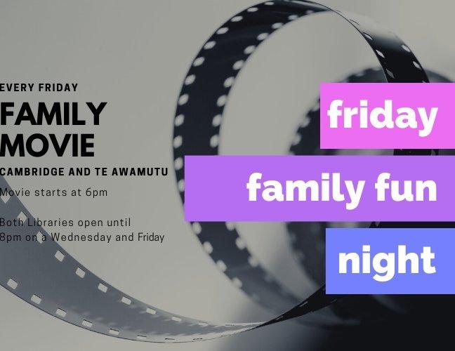 Friday Family Movie Fun Night – Cambridge Library