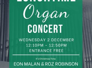 Lunchtime Organ & Piano Concert