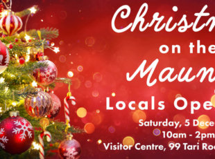 Christmas on the Maunga – Locals Open Day