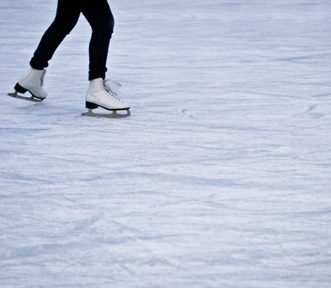 Winter Wonderland Indoor Ice Skating!