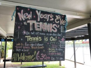 NYE Twilight Tennis Mini Tournament