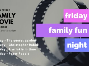 Friday Family Movie Fun Night – Cambridge Library on 23 April