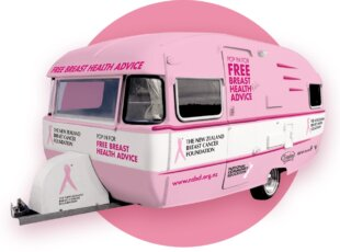 Pinkie – Breast Cancer Caravan